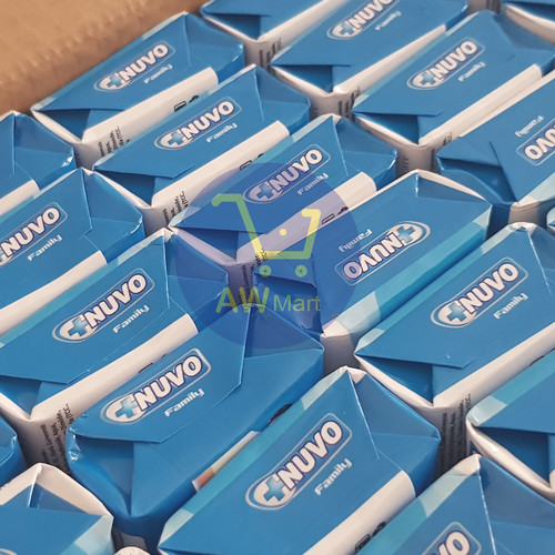 Foto Produk Nuvo Family TERMURAHHH!! - sabun mandi batang 80 gram - Biru dari AW Mart