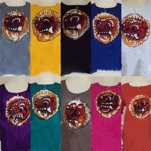 Foto Produk baju barong lukis bali - M, Putih dari made sukawati