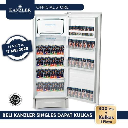 Foto Produk Paket Kanzler Singles 300 Pcs FREE Kulkas 1 Pintu dari Kanzler Official Store