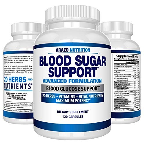 Foto Produk Blood Sugar Support Supplement - Control Blood Glucose & Weight Loss - dari Exborders