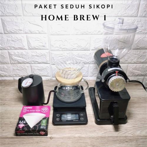 Foto Produk Paket Home Brew 1 | Untuk Pecinta Kopi Single Origin dari SIKOPI