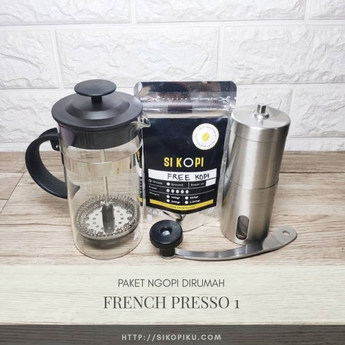 Foto Produk Paket Ngopi French Presso 1 dari SIKOPI