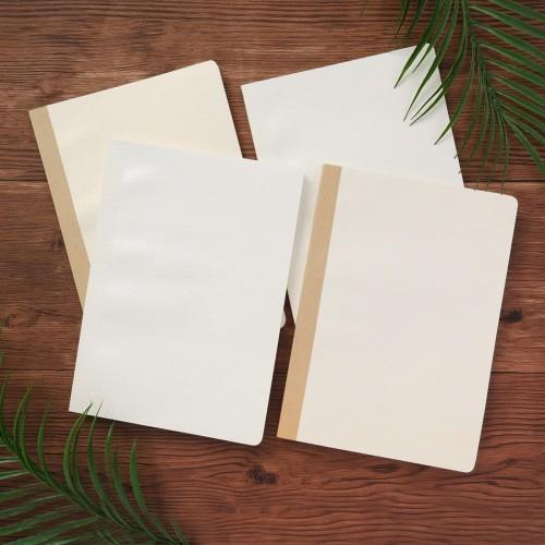 Foto Produk Leaf Impression Thick Ruled Notebook B5 Ruled / Buku Tulis B5 Bergaris dari Pinkabulous