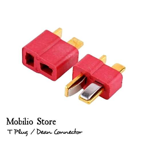 Foto Produk 1 Set T Plug / Dean Connector/ Konektor Male & Female dari Mobilio Store