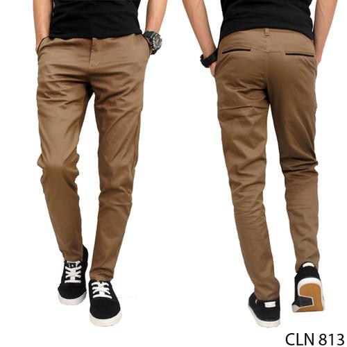 Foto Produk Chino Pants Celana Panjang Pria Casual Terbaru CLN 1106 - Cokelat Susu, 31 dari Gudang Fashion