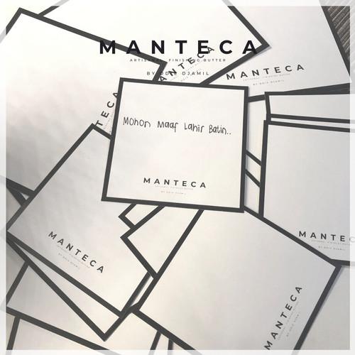 Foto Produk MANTECA Greeting Card dari BYOD Online