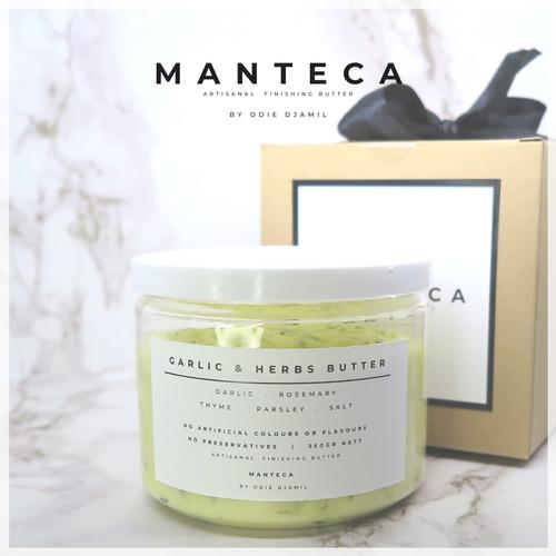 Foto Produk MANTECA Garlic & Herbs Butter 250 gr dari BYOD Online