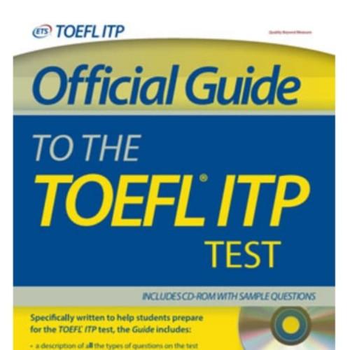 Foto Produk OFFICIAL GUIDE TO THE TOEFL ITP TEST dari Penerbit Erlangga