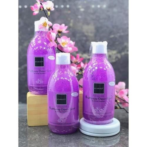 Foto Produk Scarlett Whitening Shower Scrub Sabun Mandi By Felicya Angelista - Pomegranate dari Minimi Store