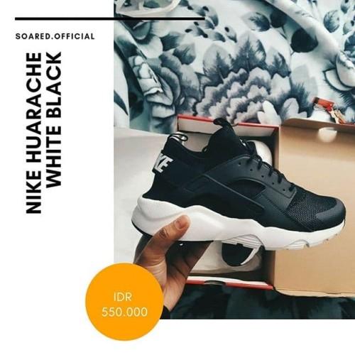 Nike Huarache Ultra Black White