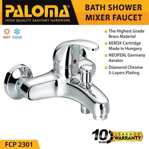 Foto Produk PALOMA FCP 2301 Keran Mixer Bathtub Shower Mandi Panas Dingin Kran Air dari PALOMA HARDWARE