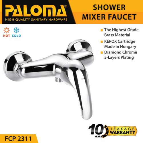 Foto Produk PALOMA FCP 2311 Keran Mixer Shower Mandi Panas Dingin Kran Air dari PALOMA HARDWARE