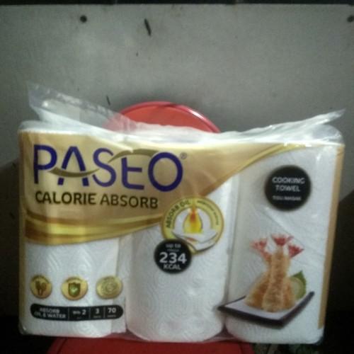 Foto Produk Paseo Tisu Tissue Tisue Dapur Kitchen Towel Serbet Dapur 3 roll dari fico motor