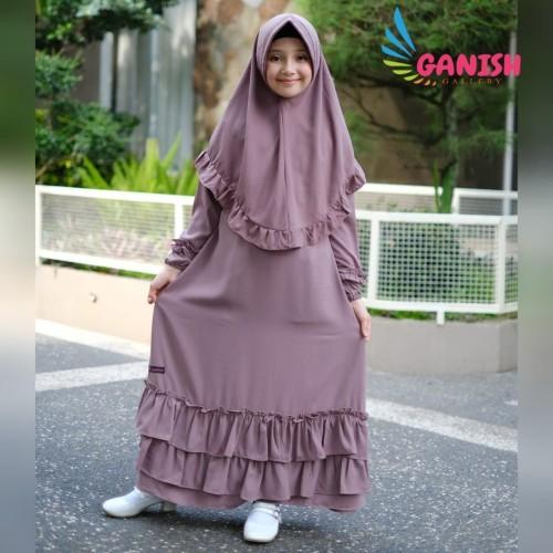 Promo Gamis Anak Premium Baju Muslim Anak Perempuan Gamis Syari Anak Terbaru Size M Ameera Pink Jakarta Timur Ganish Gallery Tokopedia