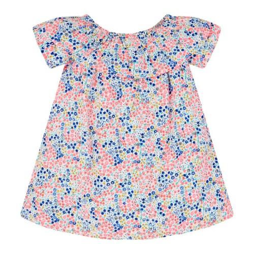 Foto Produk Mothercare neon floral bardot dress - 4-5 years dari Mothercare Official Shop