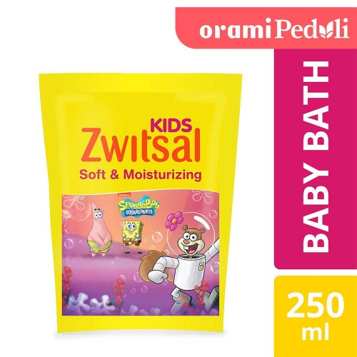 Foto Produk ORAMI - Zwitsal Kids Bubble Bath Pink Soft & Moisturizing 250ml dari Orami