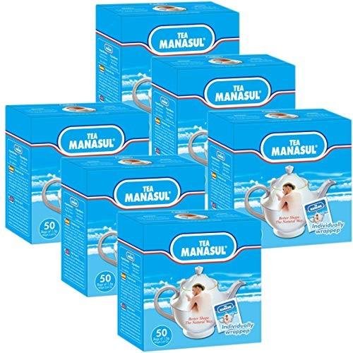 Foto Produk 6 BOXES X 50 BAGS SUPER WEIGHT LOSS MANASUL TEA ORGANIC DETOX CLEANSIN dari Exborders