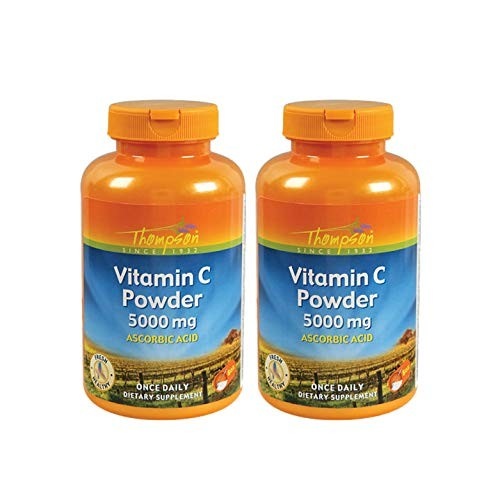 Foto Produk Nutraceuticals Thompson C 5000 Mg, Powder, 8 Ounce (Pack Of 2) dari Exborders
