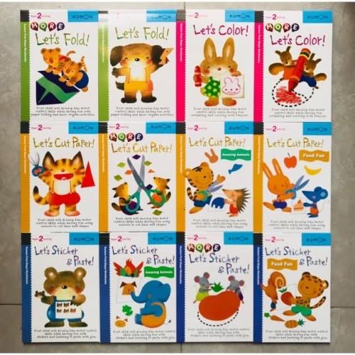 Foto Produk kumon age 2 and up/ Buku kumon activities - More lets fold dari shopatbukubuku
