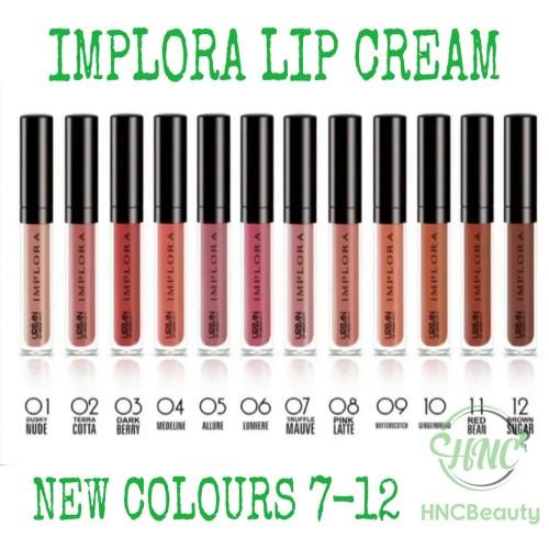 Foto Produk [BPOM] IMPLORA Urban Lip Cream Matte 2.75g - 04 MEDELINE dari HNCbeauty