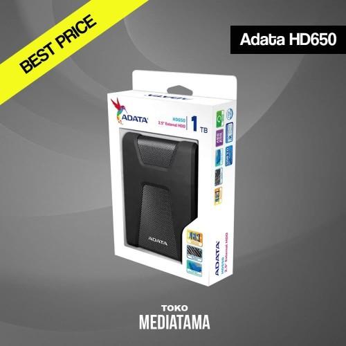 Foto Produk Adata HD650 1TB USB 3.1 - HD HDD Hardisk Eksternal External Antishock dari TOKOMEDIATAMA