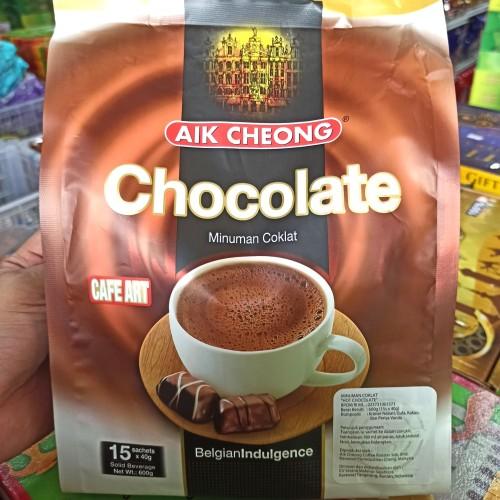 Foto Produk Aik Cheong Chocolate Drink 15s / Minuman Coklat Instant Isi 15 Sachet dari Ciavan Shop