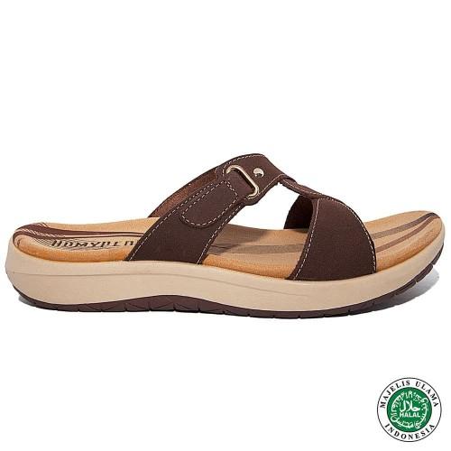 Foto Produk Homyped Luna N46 Sandal Wanita Kopi - 36 dari Homyped Official
