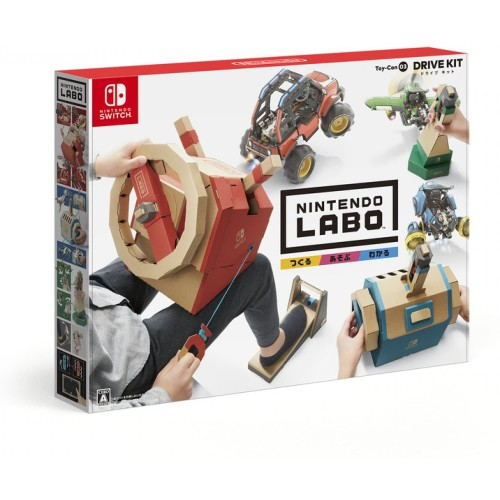 Foto Produk Nintendo Switch Labo Toy Con 03 Drive Kit Vehicle Kit dari GAMELAND