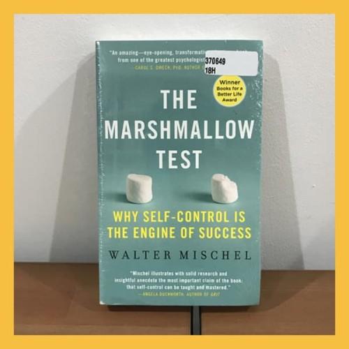 Foto Produk Buku Import The Marshmallow Test - Walter Mischel (Original Paperback) dari Book World