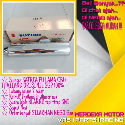 Foto Produk KNALPOT SATRIA FU SILINCER FU CBU THAILAND ORI SGP dari MERDEKA MOTOR Parts