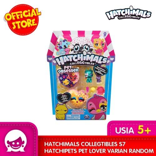 Foto Produk Mainan HATCHIMALS Colleggtibles S7 Hatchipets Pet Lover Varian Random dari Toyspedia Indonesia