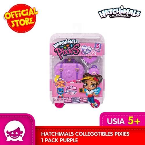Foto Produk Mainan Boneka HATCHIMALS Coleggtibles Pixies 1 Pack Purple dari Toyspedia Indonesia