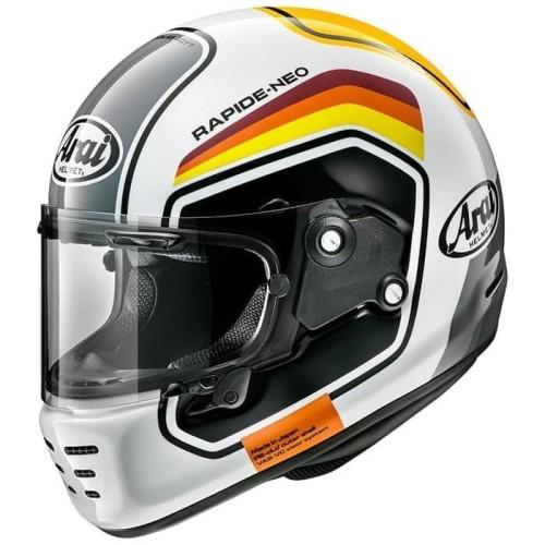 Foto Produk Arai SNI Rapide Neo Number Helm Full Face - White - M dari Helm Cargloss