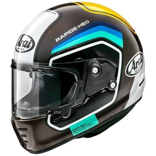 Foto Produk Arai SNI Rapide Neo Number Helm Full Face - Brown - L dari Helm Cargloss