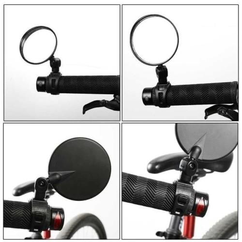 Foto Produk Spion Jalu Sepeda 360 Adjustable Blind Spot Sepeda Aksesoris Cermin dari Maju Mundur 88