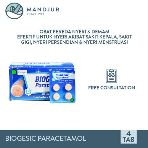 Foto Produk Biogesic Paracetamol - Obat Pereda Nyeri dan Penurun Demam dari moermer