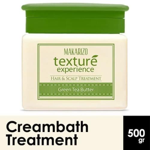 Foto Produk Makarizo Texture Experience Masker Rambut Hair Mask Green Tea Butter dari YawinzStore