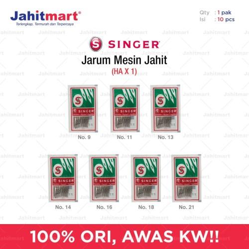 """Foto Produk JARUM SINGER """"ORIGINAL"""" 1 PACK = 10 PCS - 9 dari jahitmart"""