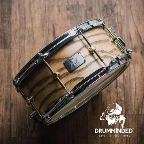Foto Produk Canopus Snare Ash Series Natural Oil 14x6,5 Brass Lugs dari drumminded