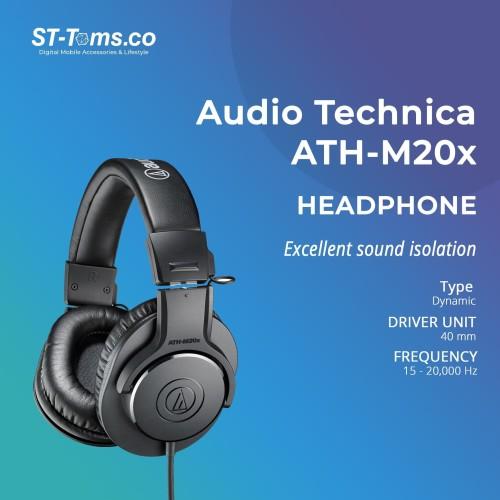 Foto Produk Audio Technica ATH-M20x Professional Monitoring Headphones dari ST-Toms.co