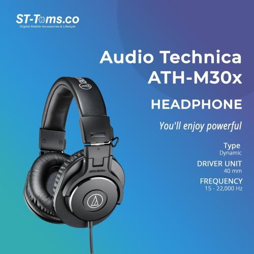 Foto Produk Audio Technica ATH-M30x Professional Monitoring Headphones dari ST-Toms.co