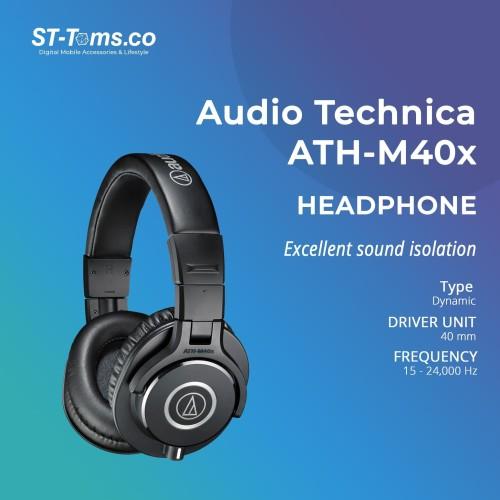 Foto Produk Audio Technica ATH-M40X Professional Monitor Headphones - Hitam dari ST-Toms.co