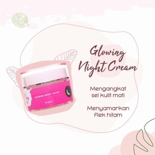 Foto Produk Vmale Skincare Glowing Night Cream dari VMALE Official