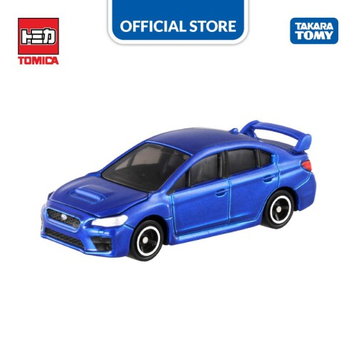 Foto Produk Tomica Regular #112 Subaru WRX STI Type S (Blue) dari Takara Tomy