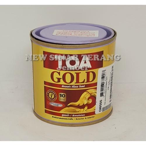 Foto Produk Cat TOA Gold GW555 250ml WATER BASED (utk Wil Sumsel Lampung Jawa Bali dari New Sinar Terang