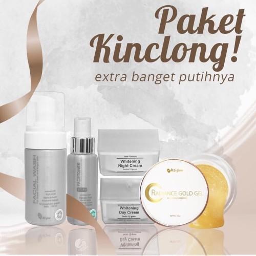Foto Produk MS GLOW - PAKET KINCLONG (Extra banget putihnya, sehat dan alami) dari MS Glow_Surabaya