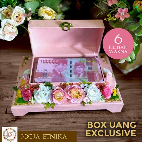 Foto Produk Kotak Uang Wedding / Box Uang / Box Mahar Pernikahan - Box Polos dari Jogja Etnika