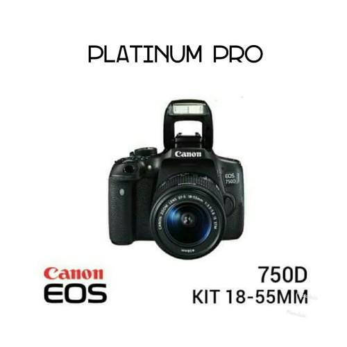 Foto Produk Canon EOS 750D kit 18-55 IS STM dari TOKO PLATINUM PRO