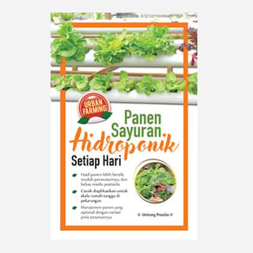 Foto Produk Panen Sayuran Hidroponik Setiap Hari - Edisi Baru dari Toko Kutu Buku