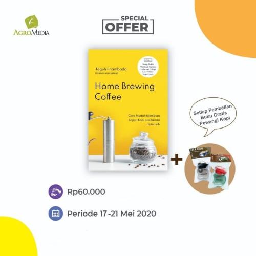 Foto Produk Home Brewing Coffee - Teguh Priambodo - Agromedia dari Toko Kutu Buku